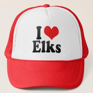 I Love Elks Trucker Hat