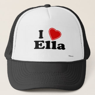 I Love Ella Trucker Hat