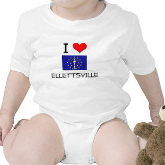 I Love ELLETTSVILLE Indiana Shirts