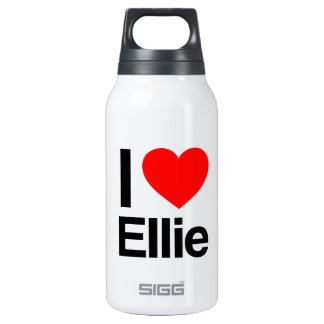 i love ellie 10 oz insulated SIGG thermos water bottle