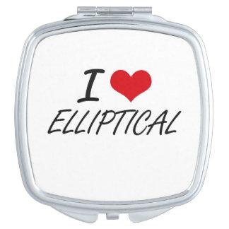 I love ELLIPTICAL Vanity Mirrors