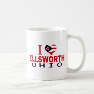 I love Ellsworth, Ohio Coffee Mugs
