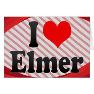 I love Elmer Stationery Note Card