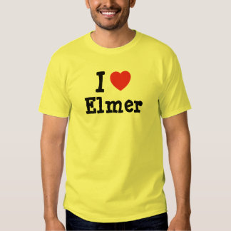 I love Elmer heart T-Shirt