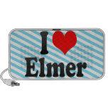 I love Elmer iPhone Speaker