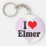 I love Elmer Key Chain