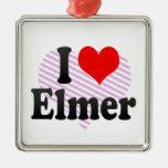 I love Elmer Ornament