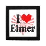 I love Elmer Trinket Box
