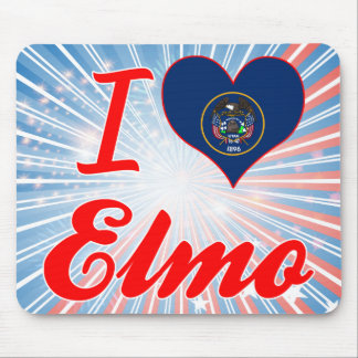 I Love Elmo, Utah Mouse Pad