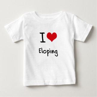I love Eloping Tee Shirts