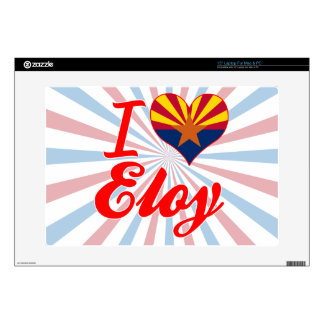 I Love Eloy, Arizona Laptop Skins