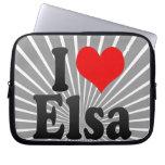 I love Elsa Computer Sleeve