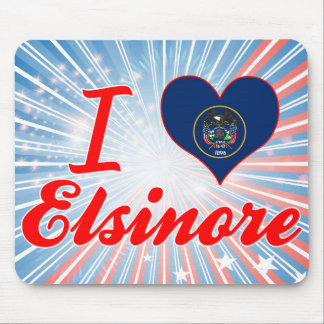 I Love Elsinore, Utah Mouse Pad