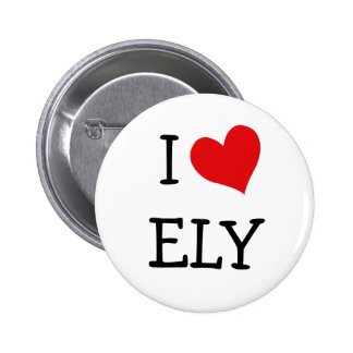 I Love Ely Pinback Button