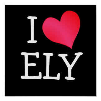 I Love Ely Poster