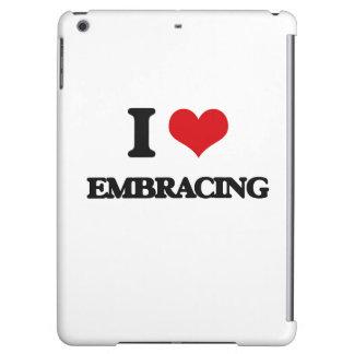 I love EMBRACING iPad Air Case