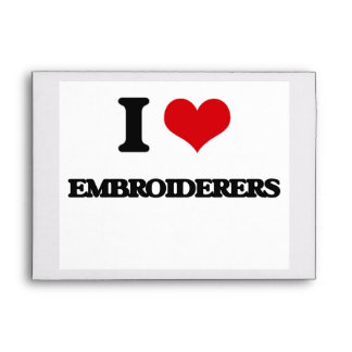 I love Embroiderers Envelope