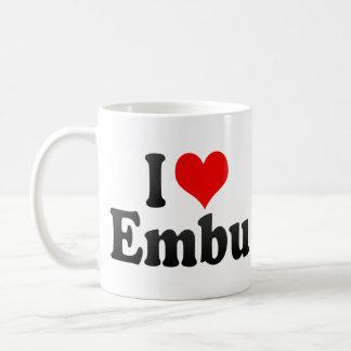 I Love Embu, Brazil Classic White Coffee Mug