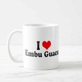 I Love Embu Guacu, Brazil Classic White Coffee Mug