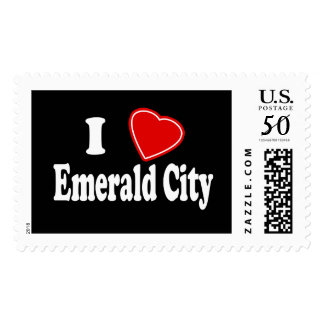 I Love Emerald City Postage