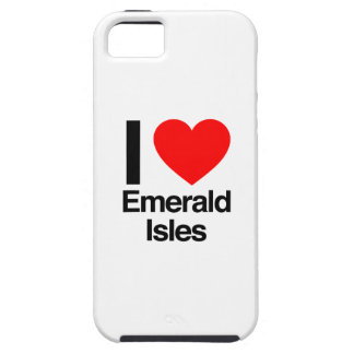 i love emerals isles iPhone 5 cover