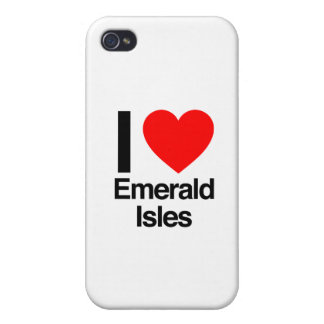 i love emerals isles iPhone 4/4S cases