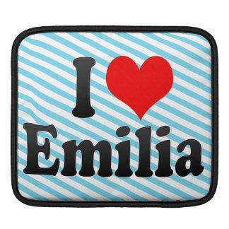 I love Emilia iPad Sleeves