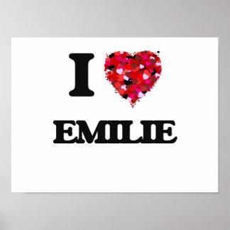 I Love Emilie Poster