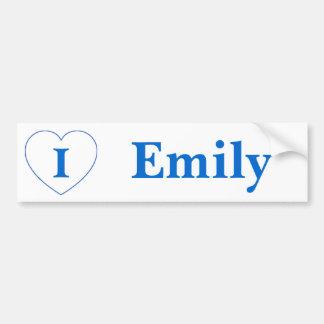 I Love Emily (BpS) Bumper Sticker