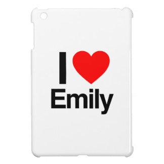 i love emily iPad mini case