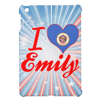 I Love Emily, Minnesota iPad Mini Case