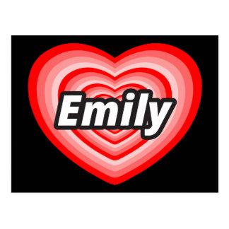 I love Emily Postcard