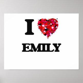 I Love Emily Poster