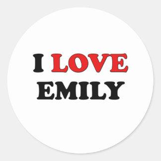 I Love Emily Sticker
