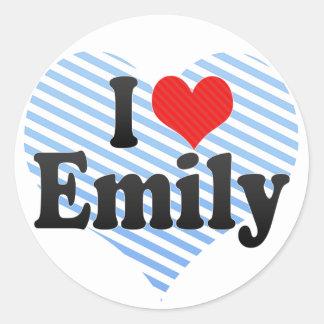 I Love Emily Stickers