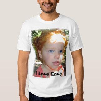 I Love Emily T Shirt