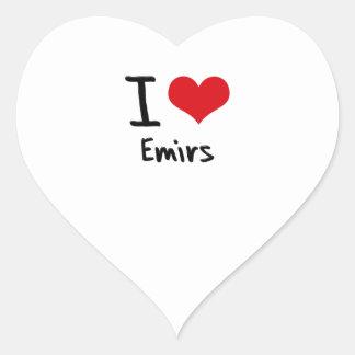 I love Emirs Heart Sticker