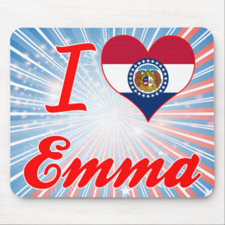 I Love Emma, Missouri Mouse Pads