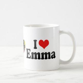 I Love Emma Classic White Coffee Mug