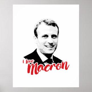 I Love Emmanuel Macron - Poster