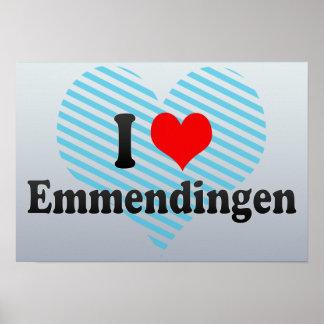 I Love Emmendingen, Germany Print