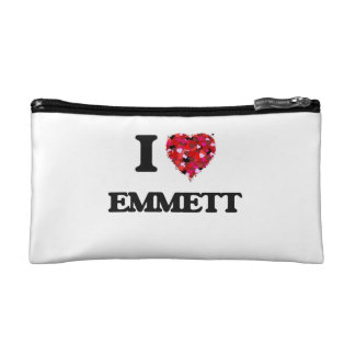I Love Emmett Cosmetic Bags