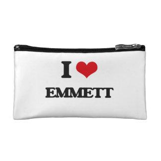 I Love Emmett Cosmetics Bags