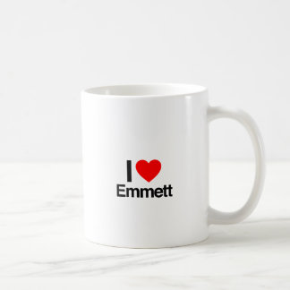 i love emmett coffee mug