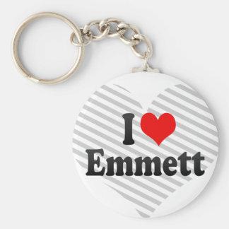 I love Emmett Keychain