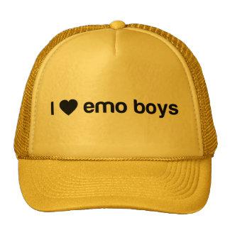 I Love Emo Boys Trucker Hat