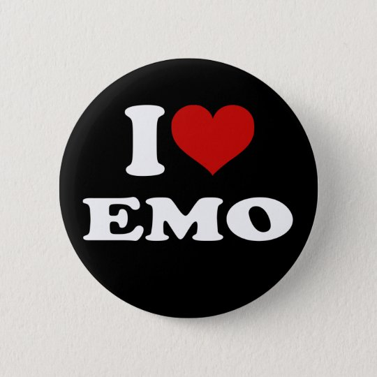I Love Emo Button