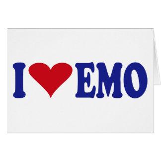 I Love Emo Card