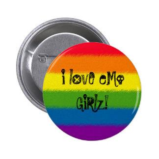 i lOvE eMo GiRlz! 2 Inch Round Button
