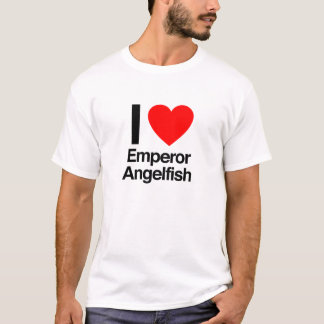 i love emperor angelfish T-Shirt